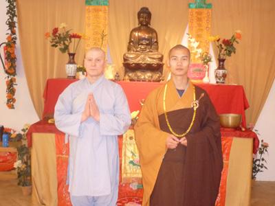 rechts: Shi Yan Ti, links: Shi Heng Xiu